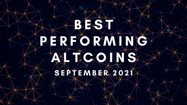 Best Performing Altcoins as of September 2021