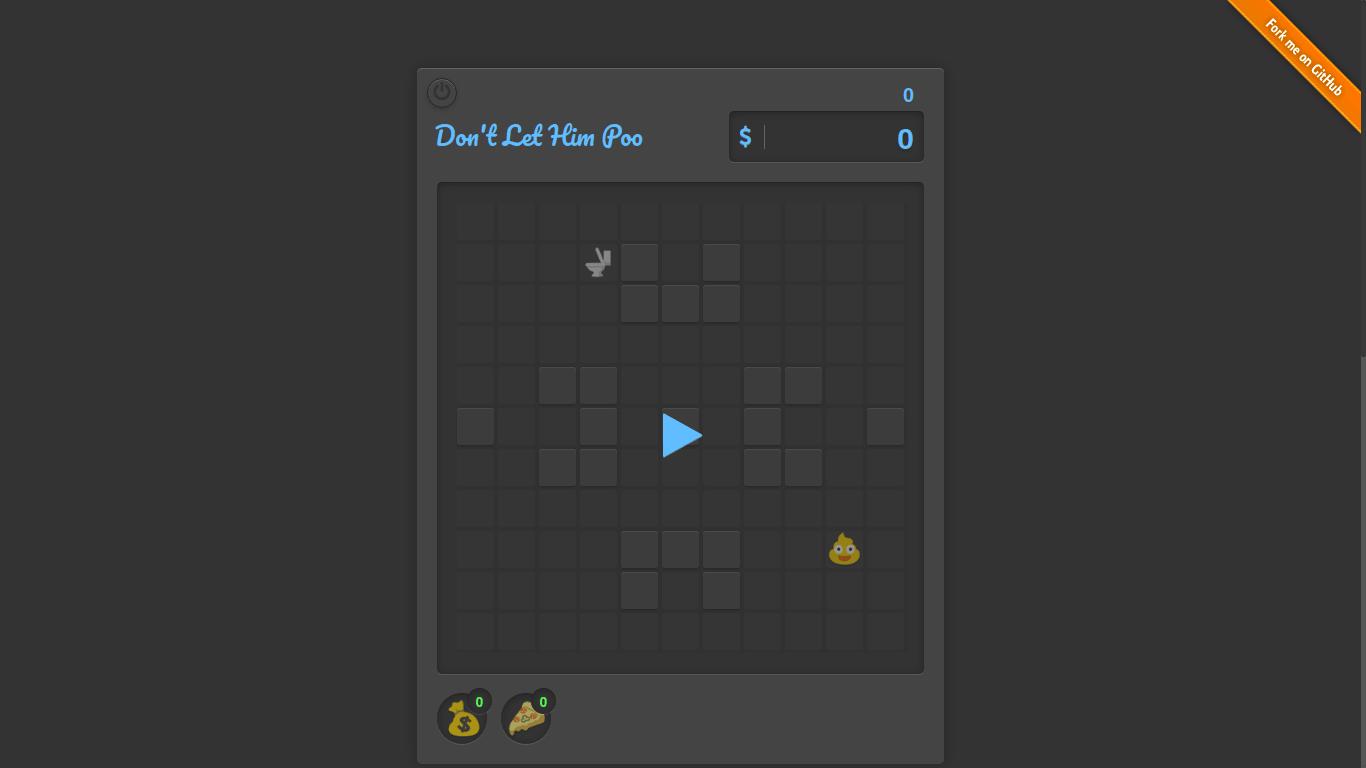 Don't Let Him Poo: Angular 2 based game using A Star Algorithm