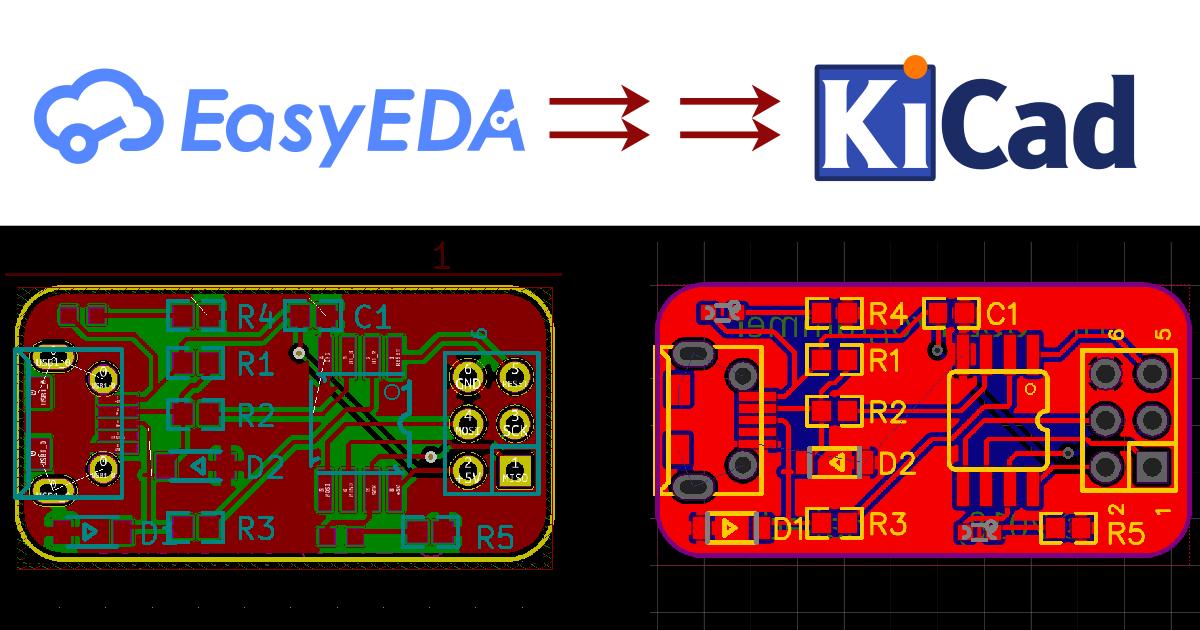 Introducing: EasyEDA 2 KiCad