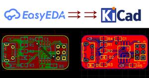 EasyEDA to KiCad