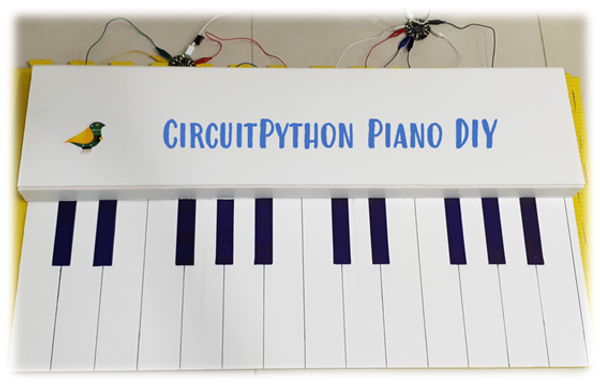? How I won the CircuitPython Challenge with a Piano ?