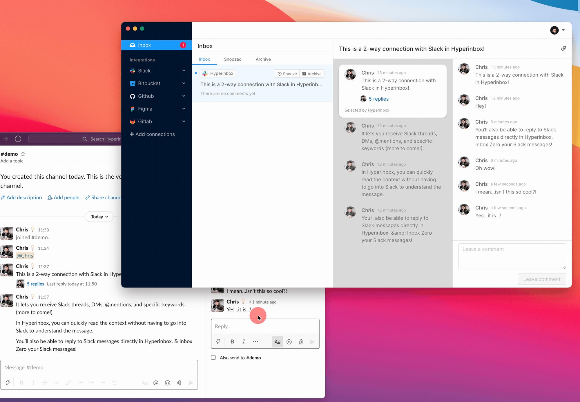 Hyperlog #4: Inbox Zero for Slack + design update