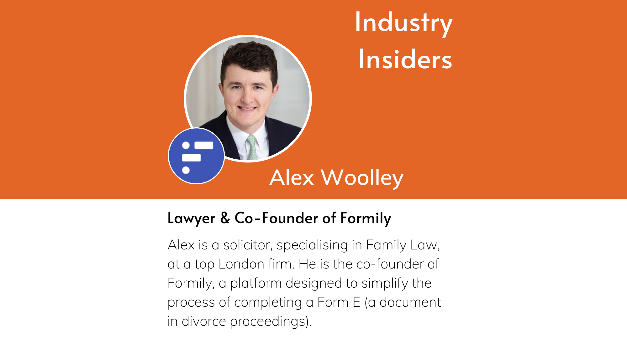 Industry Insiders - Family Law Tech Innovation