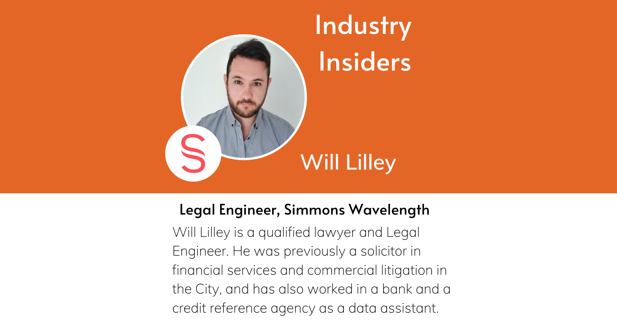 Industry Insiders - The Work of a Legal Engineer