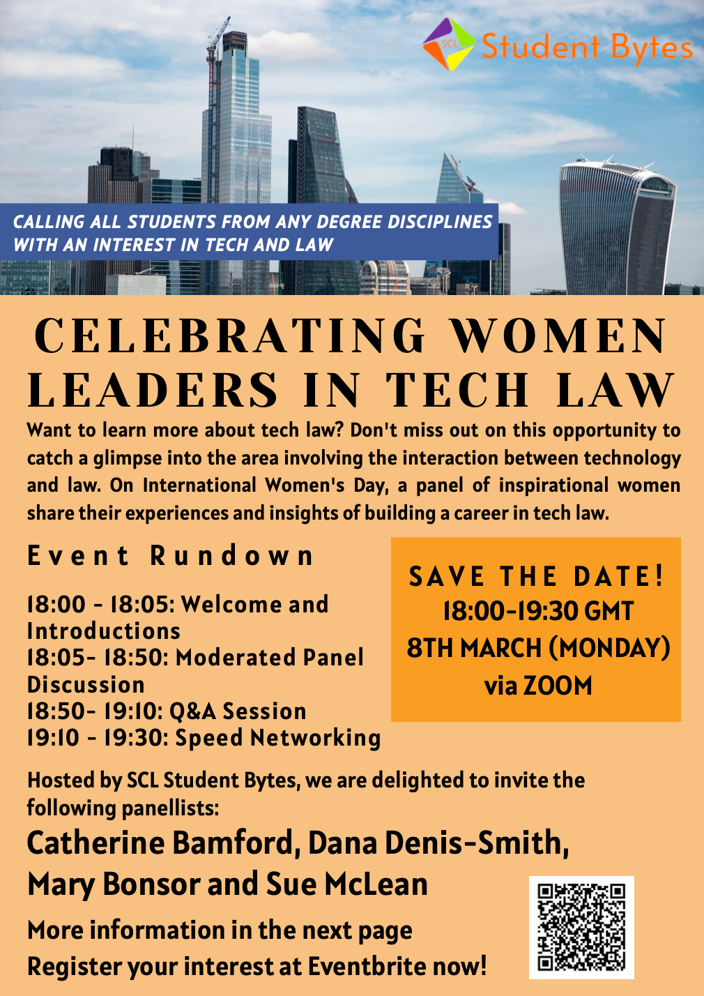Celebrating Women Leaders in Tech Law - March 8 @6pm
