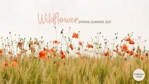 Template Theme : Wildflower