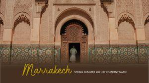 Template Theme : Marrakech
