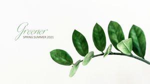 Template Theme : Greener