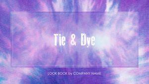 Template Theme : Tie & Dye