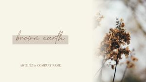 Template Theme : Brown earth