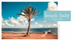 Template Theme : Beach Baby