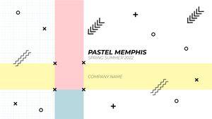 Template Theme : Pastel Memphis