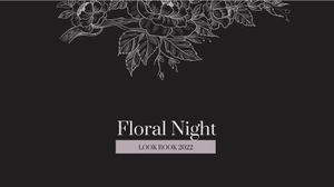 Template Theme : Floral Night