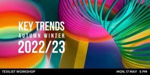 Workshop Alert : Trends for Autumn Winter 2022/23
