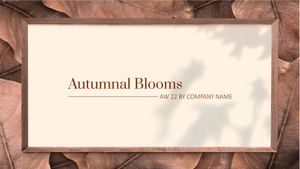 Template Theme : Autumnal Blooms