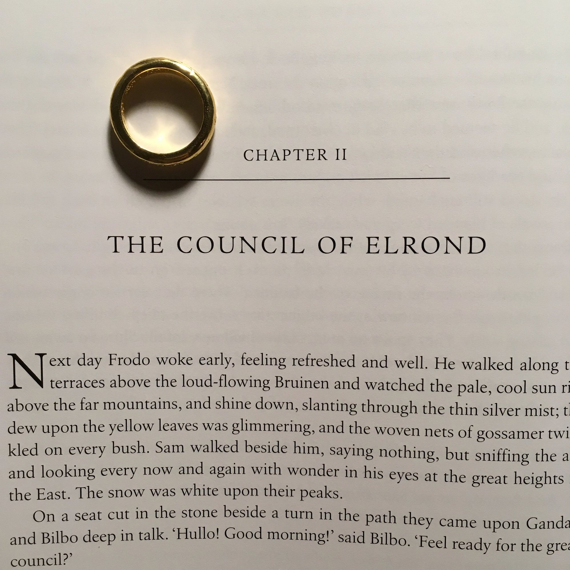 The Fellowship of the Ring: The Council of Elrond