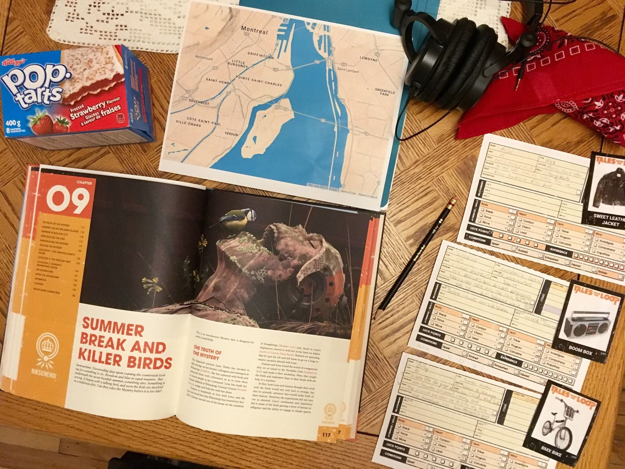 Session 1: Tales from the Montreal Loop