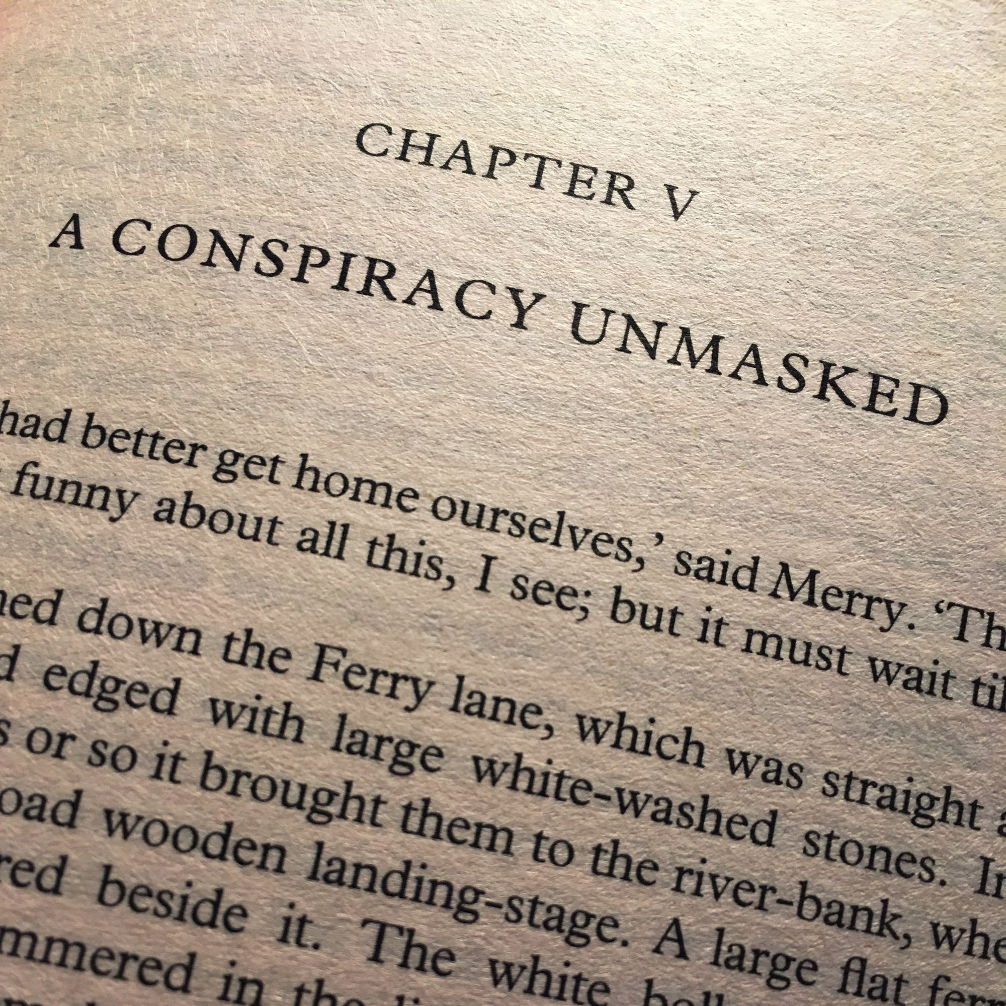 The Fellowship of The Ring: A Conspiracy Unmasked