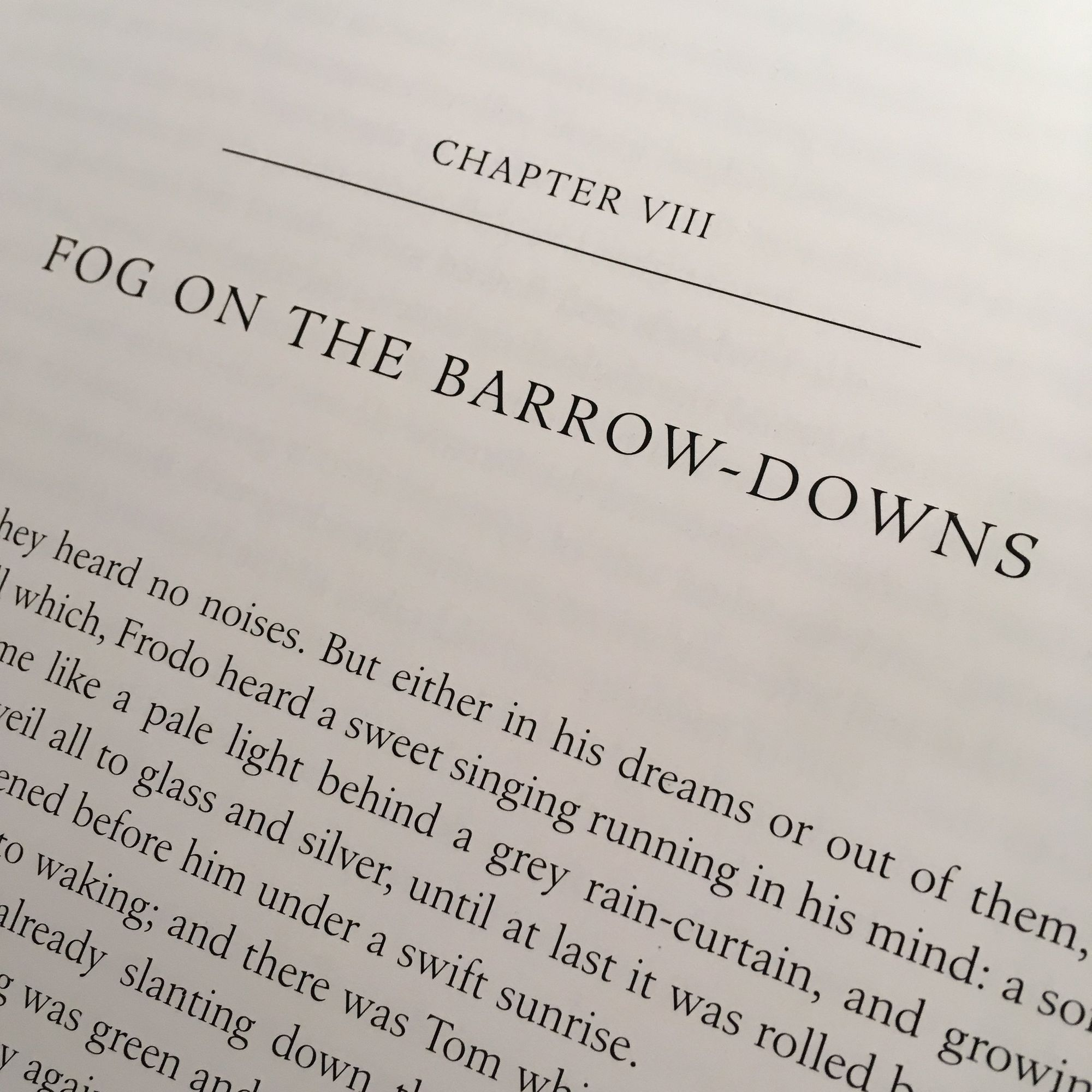 The Fellowship of The Ring: Fog on the Barrow-downs
