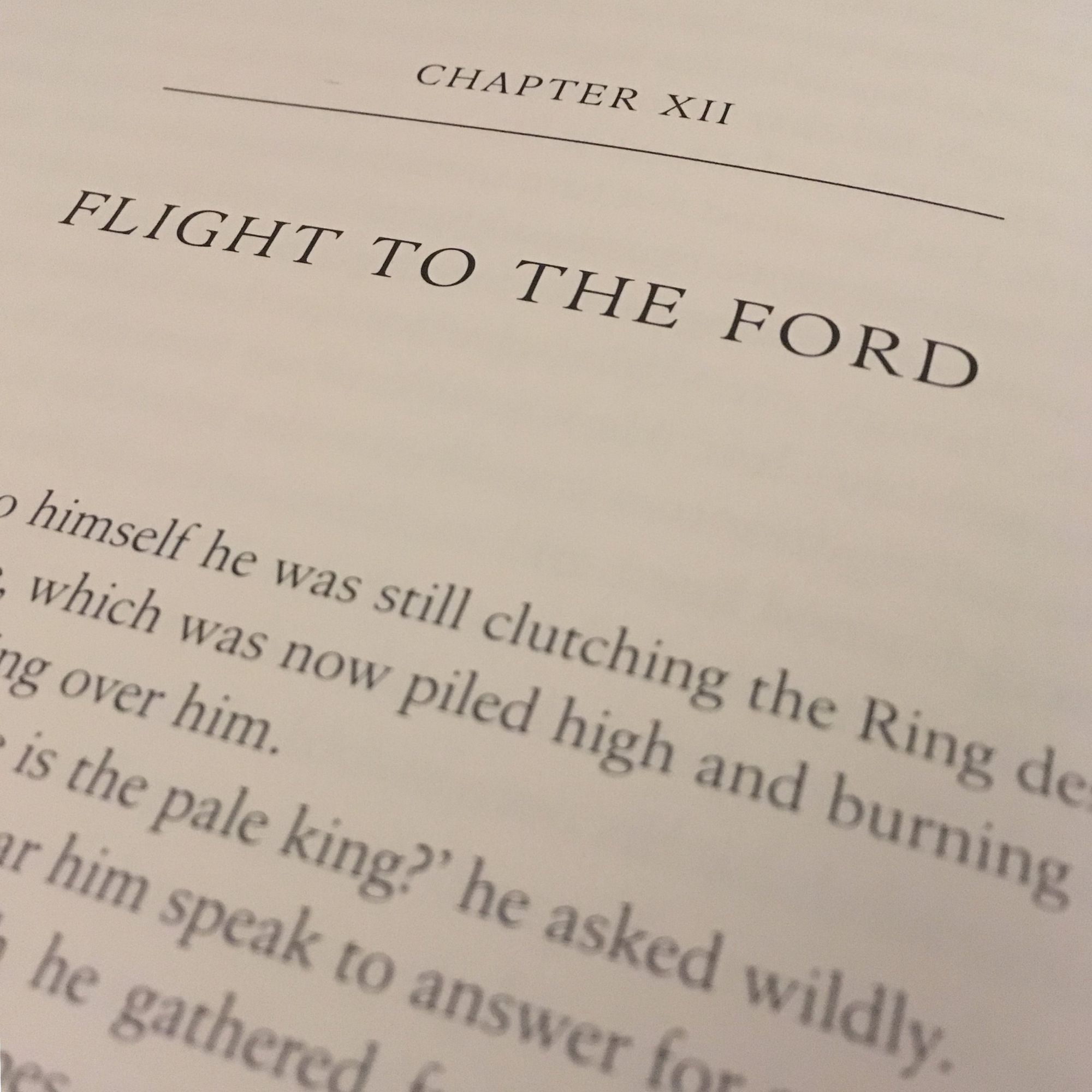 The Fellowship of The Ring: Flight to the Ford