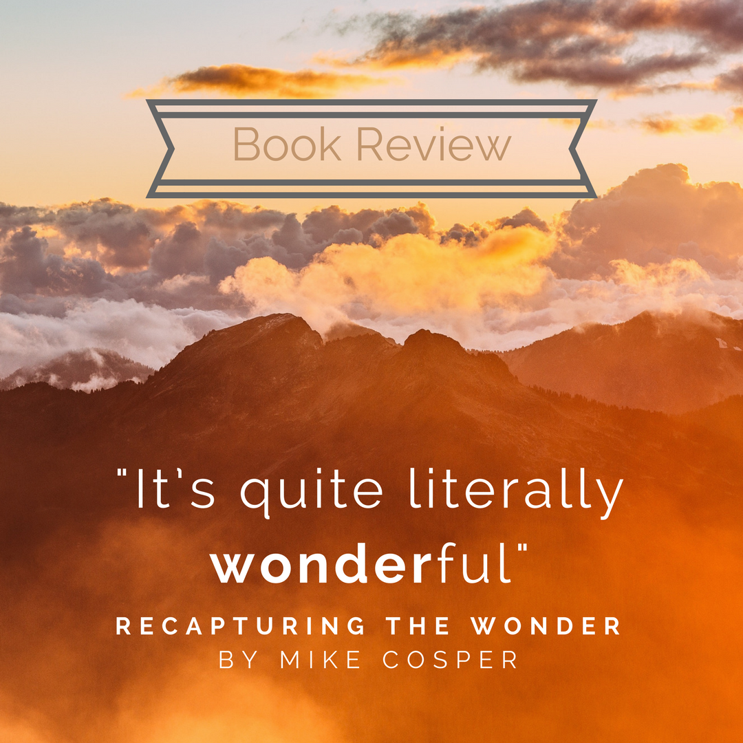 Book: Recapturing the Wonder