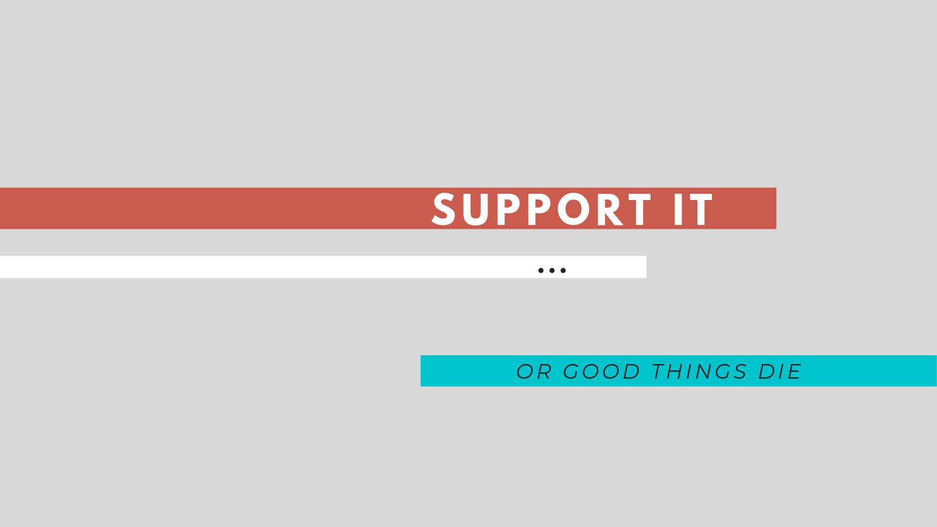Support It: CxPC