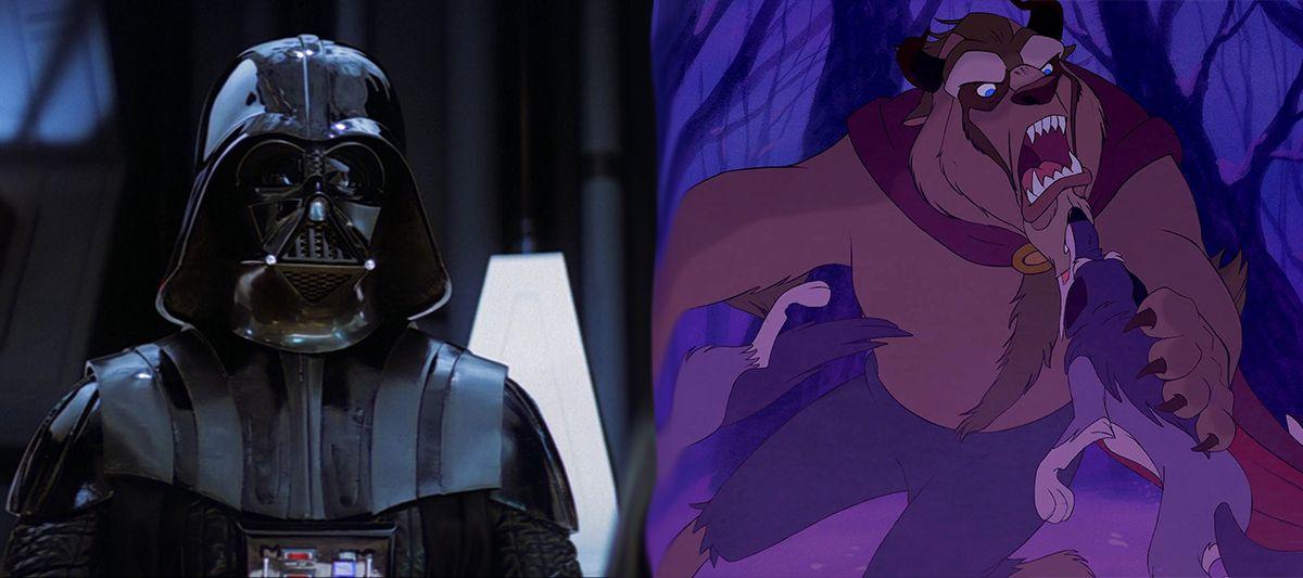 Darth Vader and Beauty's Beast