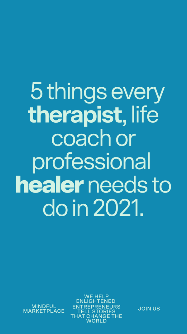 Crisis Proof Your Practice in 2021  (For Therapists, Mental Health Counselors & Service Based Professionals)