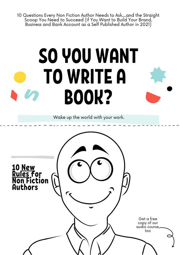 So You Want to be a Best Selling Author?  [New Course for Members]