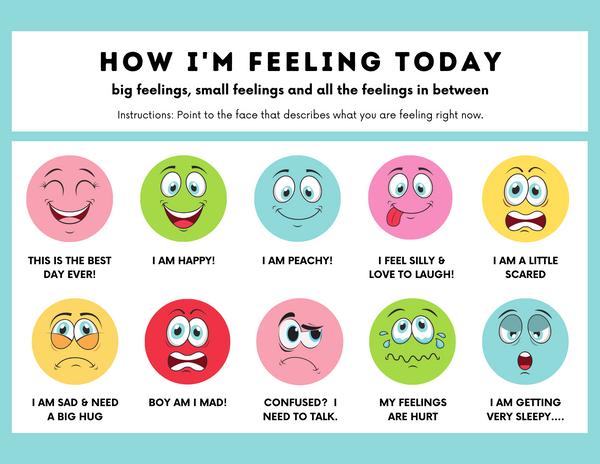 Big Feelings, Little Feelings and all of the Feelings in Between