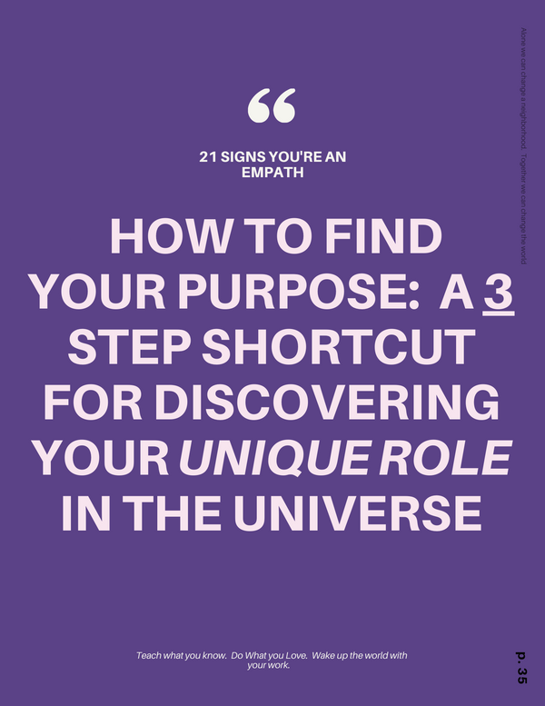 How to Find Your Purpose