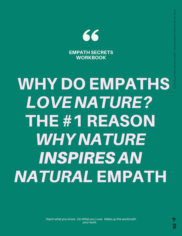 Why Do Empaths Thrive in Nature?
