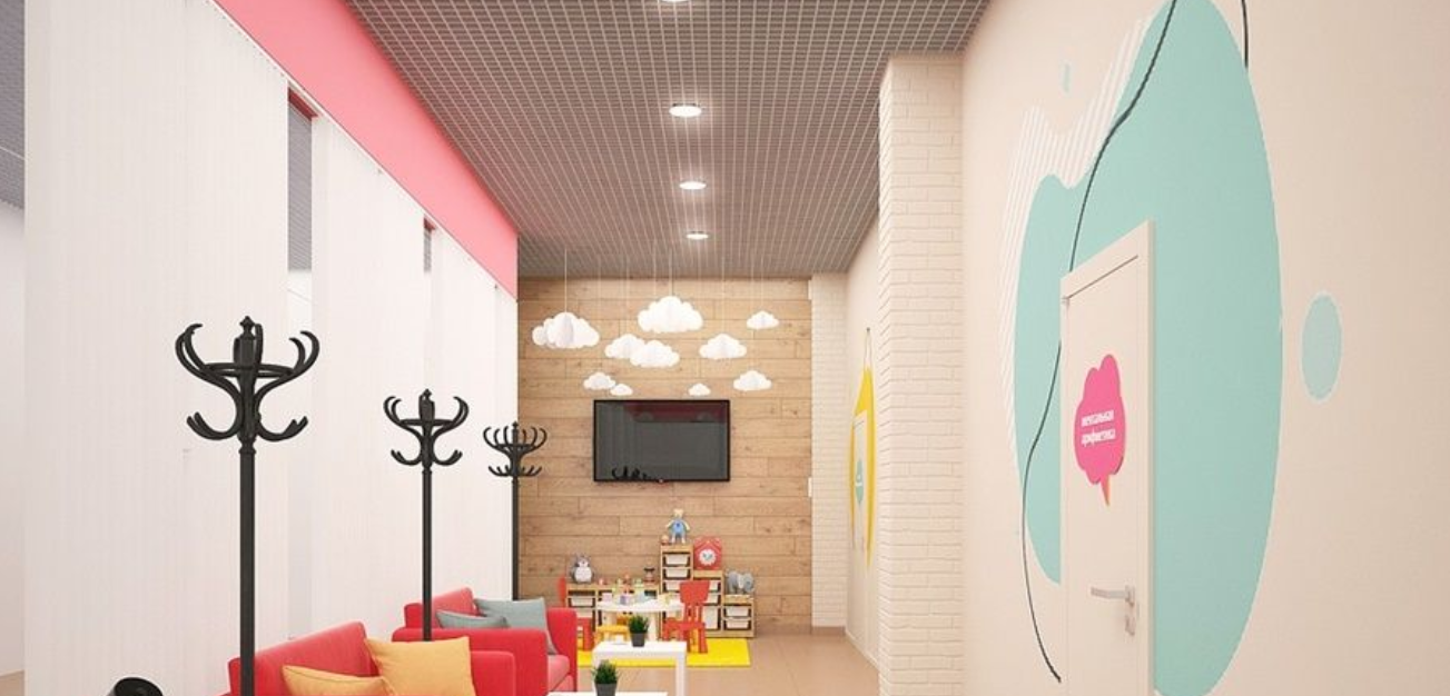 Decoration of pediatric clinics: which colors to use?