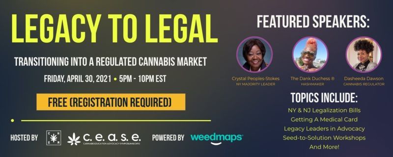 """Cannabis is Legal, Now What? : """"A Legacy To Legal"""" Event Highlights"""