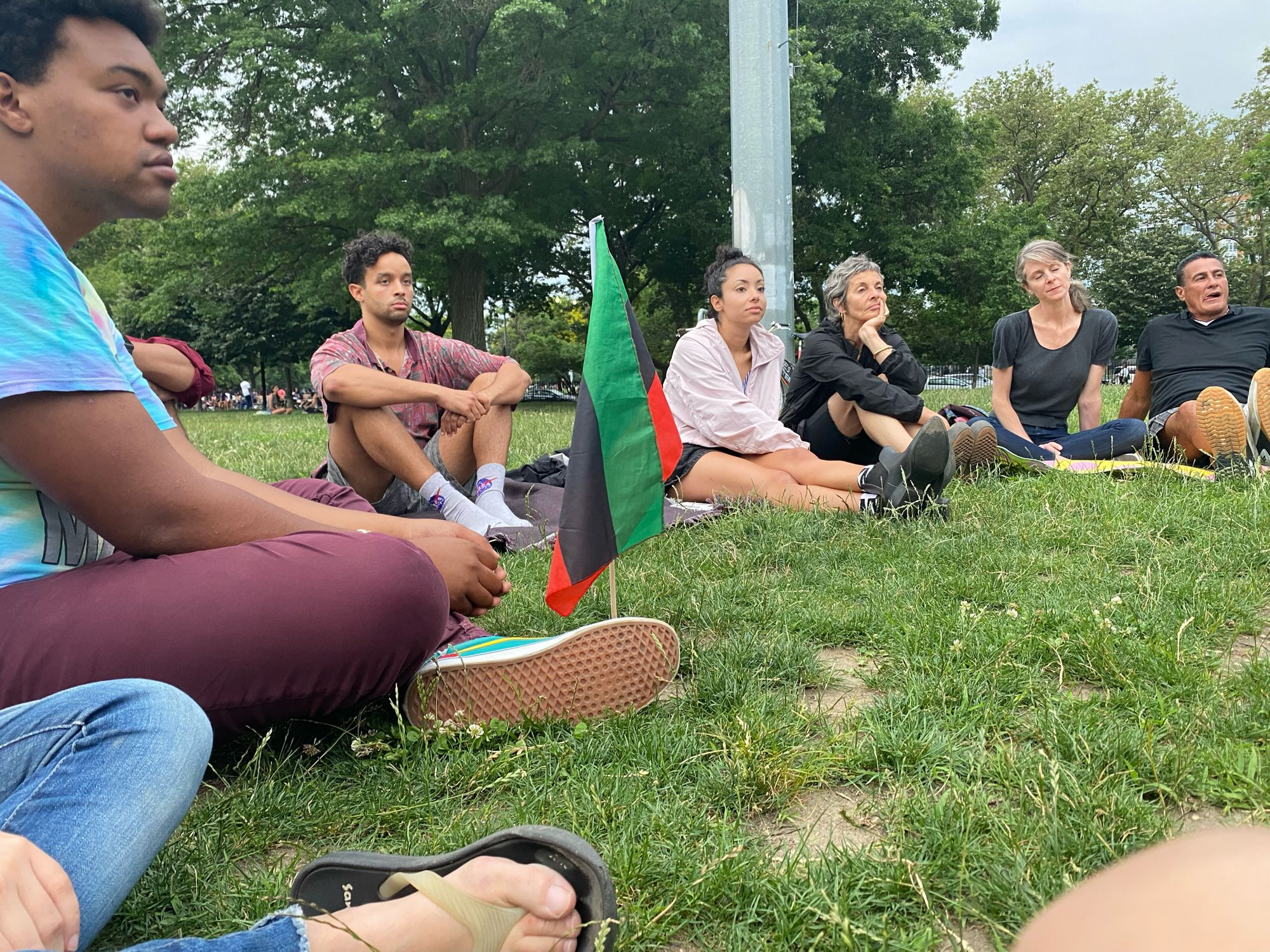 The McCarren Gathering Sees No End in Sight, Over a Year of Demanding Justice