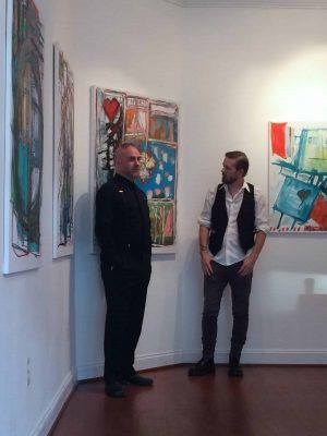 Author Colin Broderick interviews artist Jody McGrath about Art, Growing Up in Northern Ireland, and Life in the USA