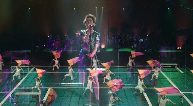 """David Byrne produces """"Contemporary Color"""" at Tribeca"""