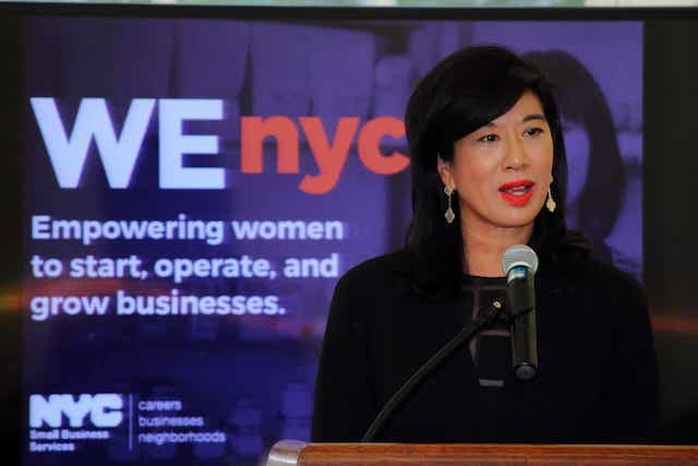 WEnyc and Andrea Jung from Grameen America