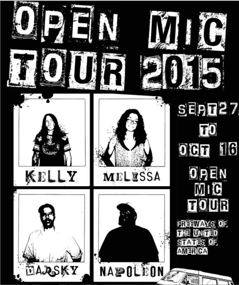 Open Mic Comedy Tour