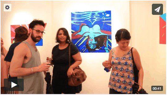 LUSH DOOM - Royal Young art opening at Figureworks