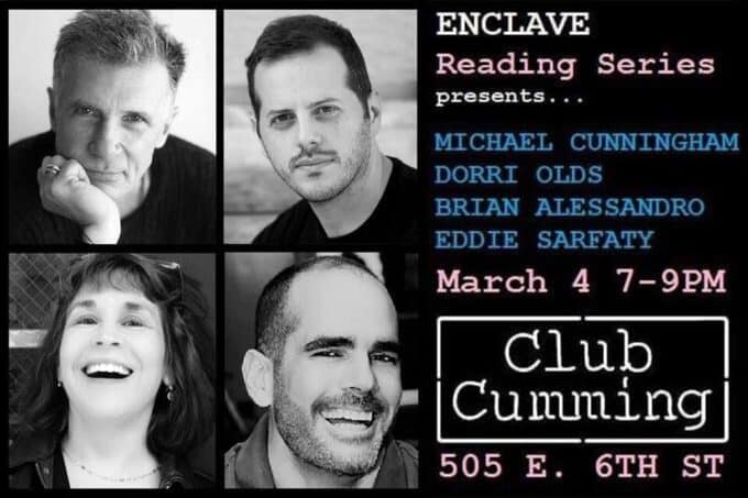 Let Enclave Entertain You March 4 at Club Cumming