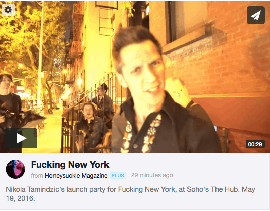 FUCKING NEW YORK OFFICIAL LAUNCH
