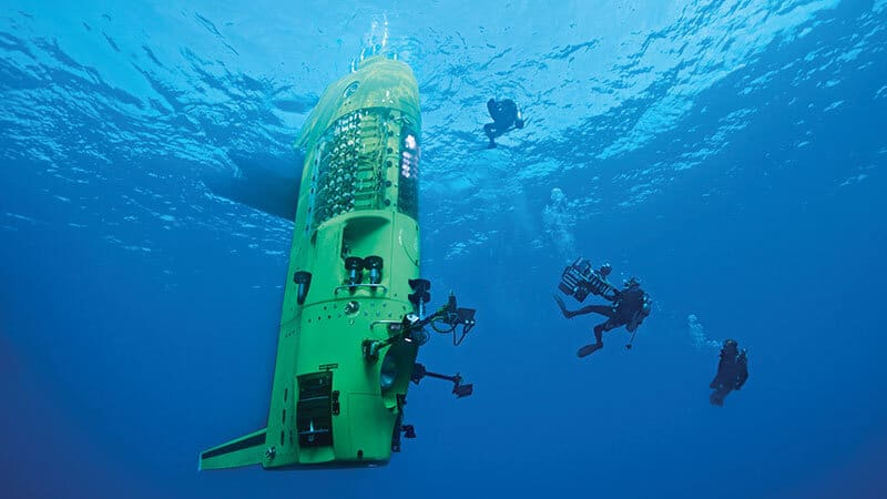 Deepsea Challenge 3D: James Cameron — the Man who gave us Avatar and Titanic  — takes us on another Incredible Journey
