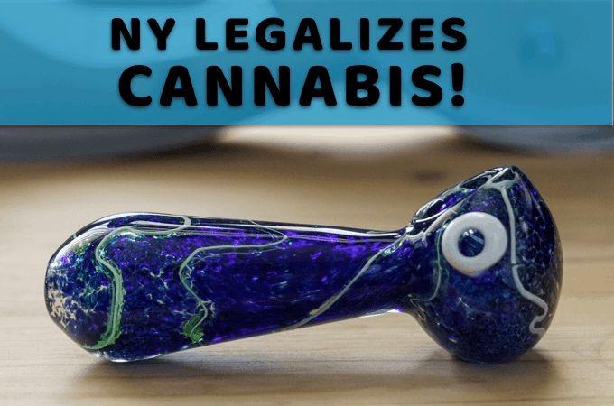 New York (FINALLY) Legalizes Marijuana!