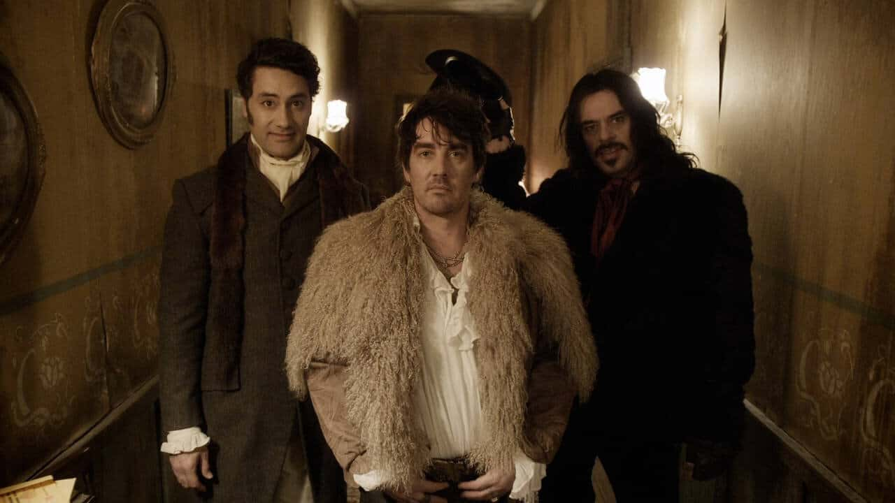 Movies: Reviews - What We Do in the Shadows