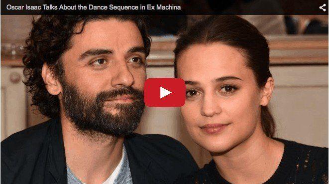 Oscar Isaac and Alicia Vikander Talk Ex Machina