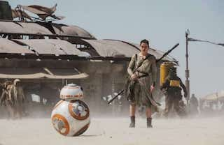 Star Wars Episode VII - A movie review in less than 200 words (contains spoilers)