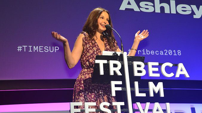 Ashley Judd Shared Her Personal Letter at the Time's Up #Tribeca2018 Event