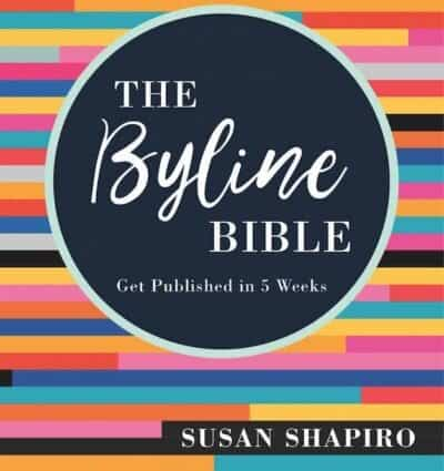 The Byline Bible: An Interview with Susan Shapiro