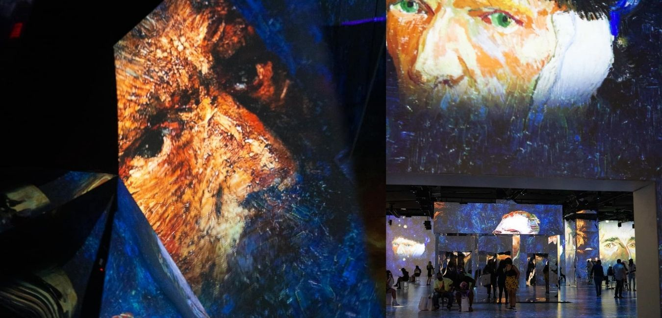 Immersive Van Gogh Hosts Cannabis After Hours with Happy Munkey Lounge in NYC